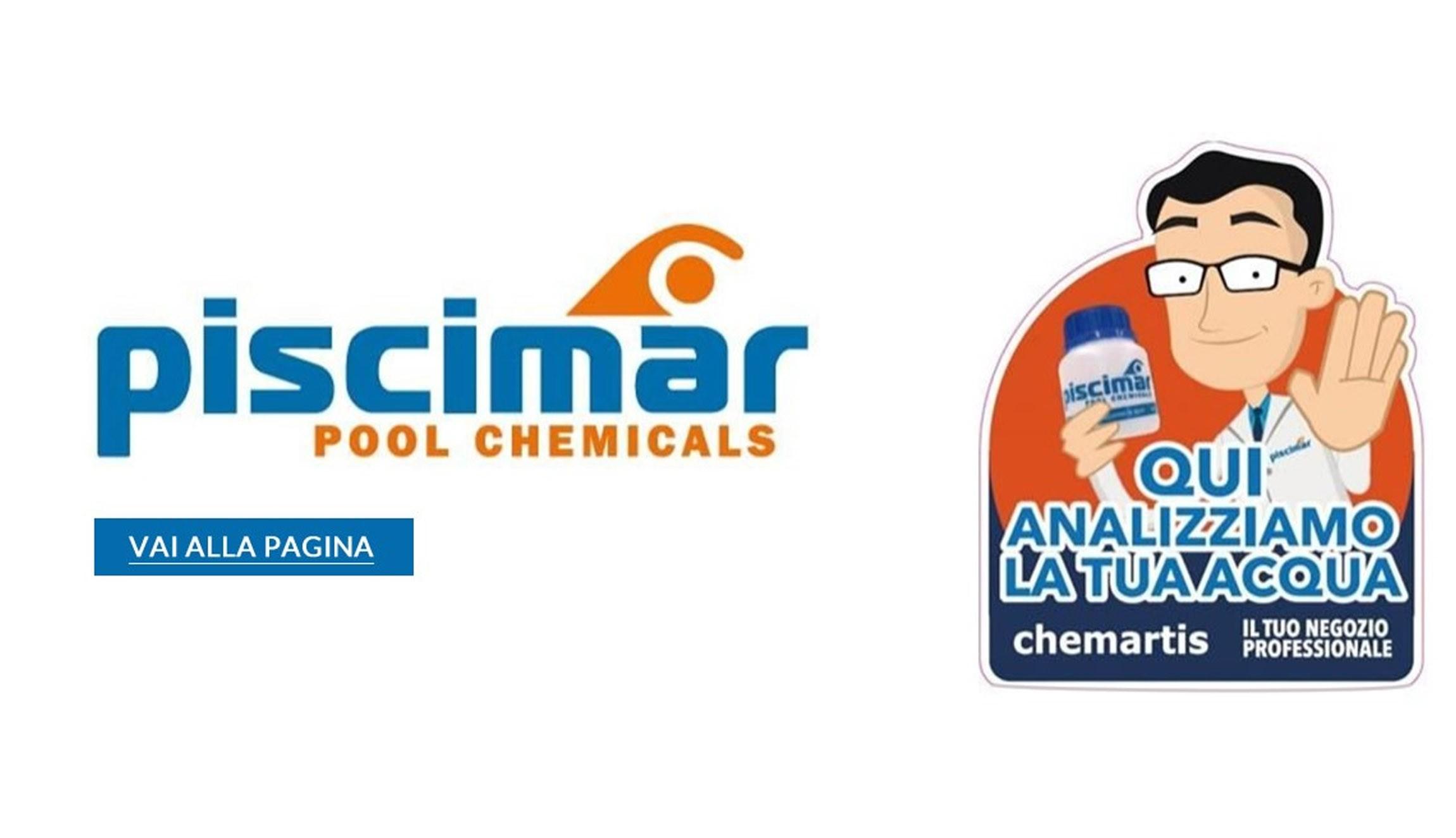 Analizziamo l'acqua della tua piscina con i prodotti esclusivi ed unici di Piscimar